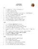 Novel Study, As You Like It (by William Shakespeare) Study Guide