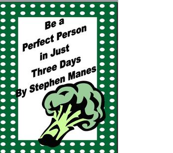 Novel Study Be a Perfect Person in Just Three Days