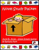 Novel Study for Junie B. Jones #4: Junie B. Jones and Some