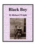 Novel Study, Black Boy (by Richard Wright) Study Guide
