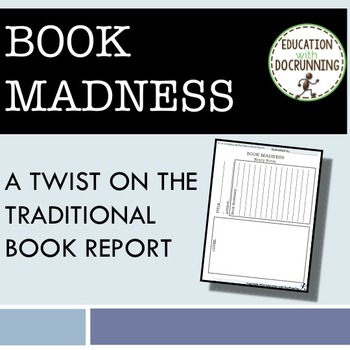 Book Report: Book Madness - a book report tournament