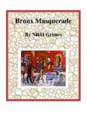 Bronx Masquerade (by Nikki Grimes) Study Guide