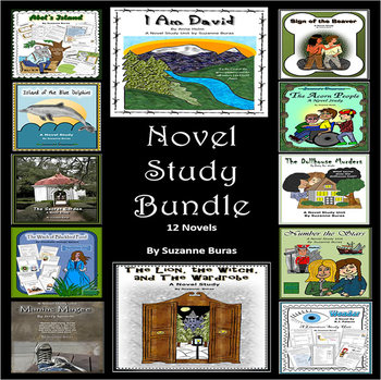 Novel Study Bundle: 12 Novels