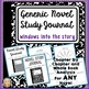 Novel Study, Bundle, 2 Formats, Digital, Printable, Generic, For ANY Book