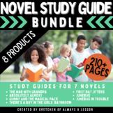 Novel Study Guide Bundle