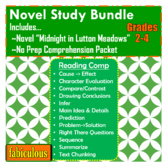 Novel Study Bundle- Midnight in Lutton Meadows