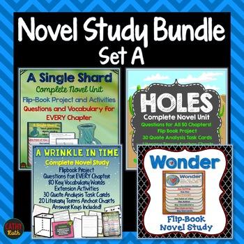 Novel Study Bundle Set A