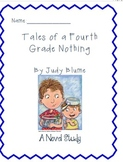 Novel Study Bundle:Tales of a 4th Grade Nothing, Catching