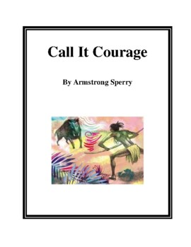 Novel Study, Call It Courage (by Armstrong Sperry) Study Guide