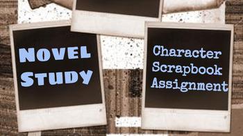 Novel Study: Character Scrapbook Project