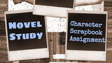 Novel Study: Character Scrapbook Project