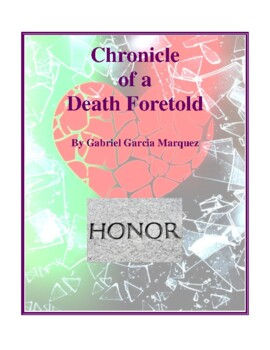 Novel Study, Chronicle of a Death Foretold (by Gabriel Garcia Marquez)