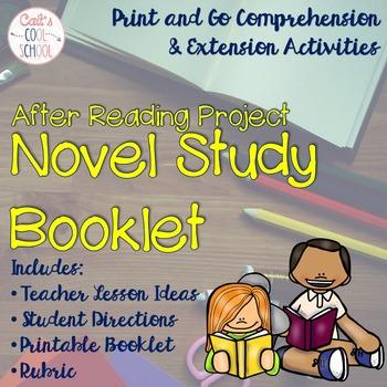 Novel Study Comprehension Booklet {Print & Go!}