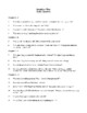 Novel Study, Dandelion Wine (by Ray Bradbury) Study Guide