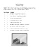 Novel Study, Death of a Salesman (by Arthur Miller) Study Guide