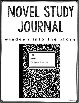 Novel Study Journal, Generic, Literary Analysis, Chapter Questions, for ANY book