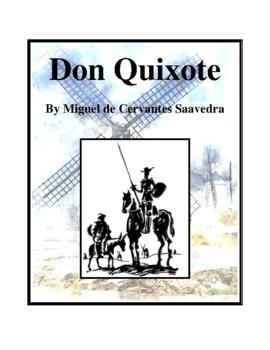 Novel Study, Don Quixote (by Miguel de Cervantes Saavedra) Study Guide