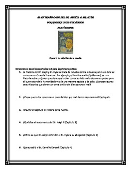 Middle School Novel Study: Dr. Jekyll & Mr. Hyde (Spanish)
