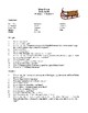 Novel Study, Ethan Frome (by Edith Wharton) Study Guide