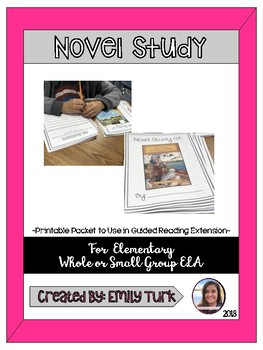 Novel Study (FOR ANY NOVEL)