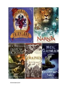 "Fantasy genre study using ""The Hobbit"""