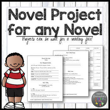 Distance Learning Book Report for any novel