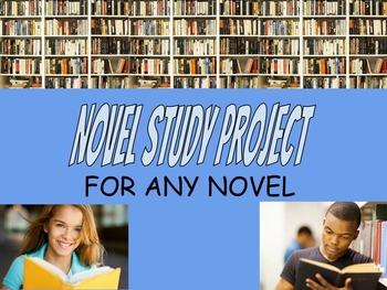 Novel Study Final Project - USEFUL FOR ANY NOVEL