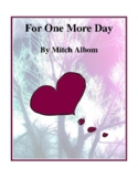 For One More Day (by Mitch Albom) Study Guide
