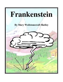 Novel Study, Frankenstein (by Mary Wollstonecraft Shelley) 1818 Edition