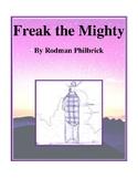 Novel Study, Freak the Mighty (by Rodman Philbrick) Study Guide