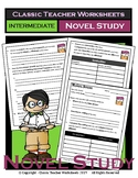 Novel Study-Generic Novel Study Questions-Intermediate-Grades 3-6, 3rd-6th Grade
