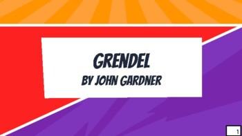 Novel Study - Grendel by John Gardner