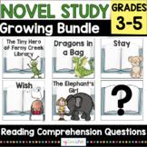 Novel Study Growing Bundle for School Librarians