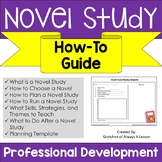 Novel Study How-To Guide for Teachers - Professional Development
