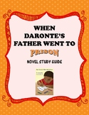 Novel Study Guide: When Daronte's Father Went to Prison