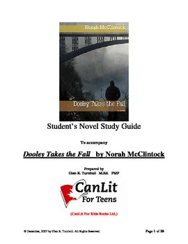 "Novel Study Guide for ""Dooley Takes the Fall"" by Norah McClintock"