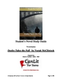 """Novel Study Guide for """"Dooley Takes the Fall"""" by Norah McClintock"""