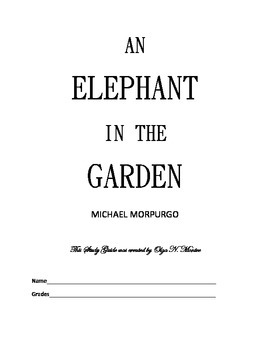 Novel Study Guide to An Elephant In the Garden by Michael Morpurgo