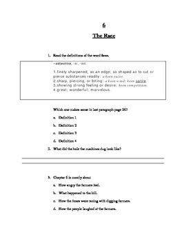 Novel Study Guide to Fantastic Mr. Fox by Roald Dahl