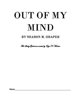 Novel Study Guide to OUT OF MY MIND
