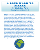 A Long Walk to Water: Novel Study Guide with Signposts (Co