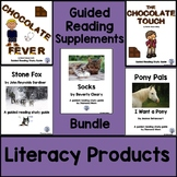 Novel Study/Guided Reading Supplements Bundle
