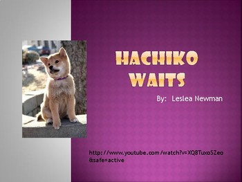 Novel Study:  Hachiko Waits PowerPoint