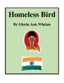Novel Study, Homeless Bird (by Gloria Ann Whelan) Study Guide