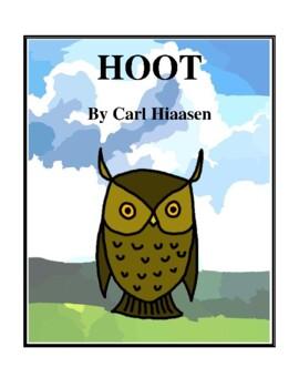 Novel Study, Hoot (by Carl Hiaasen) Study Guide