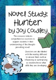 Novel Study: Hunter by Joy Cowley