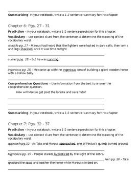 Novel Study - I Survived the Destruction of Pompeii