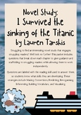 Novel Study: I Survived the Sinking of the Titanic, 1912