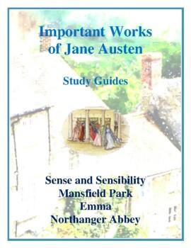 Novel Study, Important Works of Jane Austen Study Guides