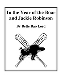 Novel Study, In the Year of the Boar and Jackie Robinson (by Better Bao Lord)